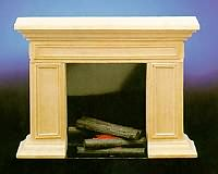 Basic American Fireplace