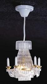 Hanging Crystalene Chandelier