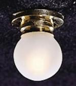 Ceiling Lamp W/ Rmvf Frosted Globe