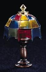 Colored Tiffany Table Lamp