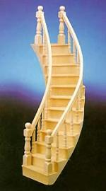Left Curve Staircase
