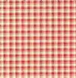 Brodnax Silk Fab - Checkers Red