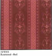 Brodnax Prints- Rosewood-red